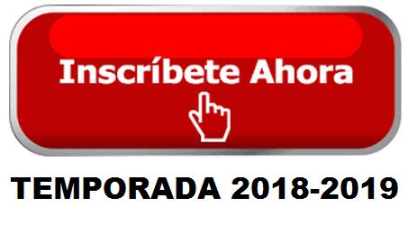 INSCRIPCIONES TEMP. 2018/2019